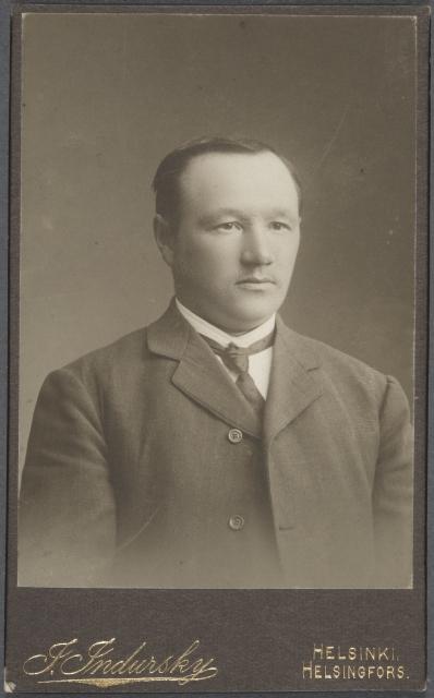 Valtiopäivämies Oskari Tokoi.