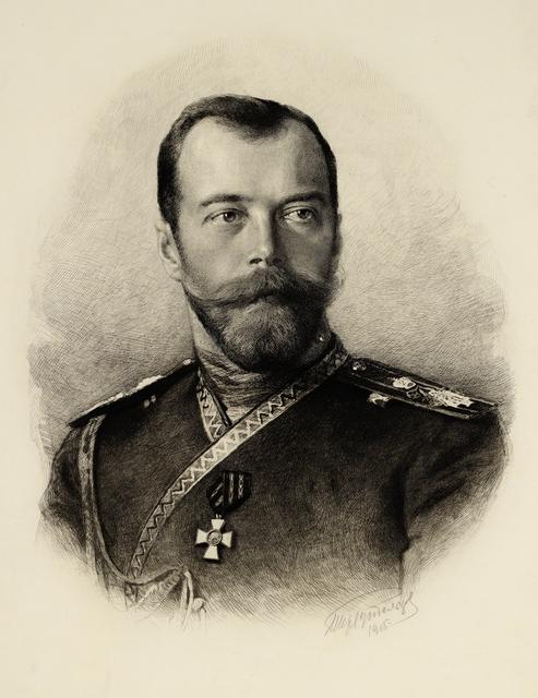 Nikolai II Aleksandrovits, Venäjän Tsaari.